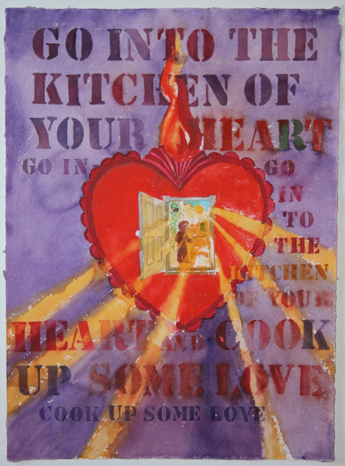 Ann Beam - Go into the Kitchen of your Heart and Cook Up Some Love