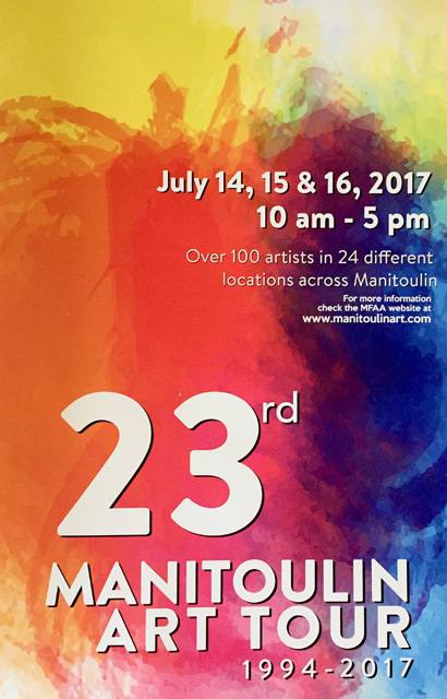 Manitoulin Fine Arts Association Art Tour Poster